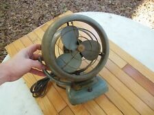 "Vintage Small Vornado Jr. 6"" Blade Turquoise Retro Fan Works!"