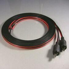 Lautsprecherkabel mit je einem DIN-Stecker für klassische HiFi-Geräte und Boxen