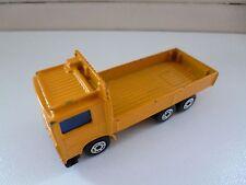 Volvo Truck - 1/90 - 1984 - Matchbox - Yellow - China