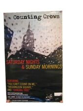 Counting Crows Poster Saturday Nights The Crowes