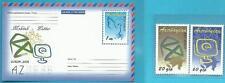 Aserbaidschan aus 2008 ** postfrisch MiNr.715-716 + Block 81 - Europa: Der Brief