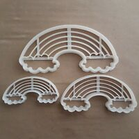 Arc-En-Ciel Nuage Temps Forme Coupe Biscuit Pâte Pâtisserie Fondant Tampon