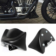 Matte Black Front Chin Spoiler Air Dam Fairing For Harley Dyna FXD FXDB 2006-Up