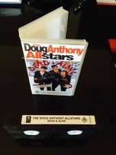 DOUG ANTHONY ALLSTARS D*A*A*S DEAD OR ALIVE LIVE VHS Rare! Hilarious! R Rated