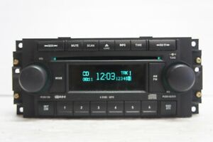 2005 Jeep Grand Cherokee Radio FM/AM/Aux/6-Cd/MP3 Player OEM P05091720AF *A387