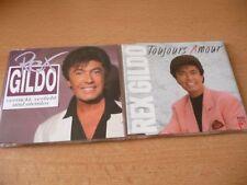 2 Single CD Set REX Gildo: pazzo, innamorata e col fiato sospeso + toujours amour RARE