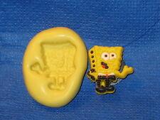SpongeBob Square Pants Silicone Mold 518 Fondant Candy Wax Fimo Clay Chocolate