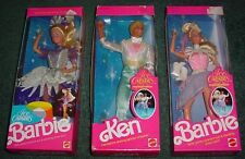 Lot Of 3 Ice Capades Barbie & Ken / Never Removed From Box - Private Collection