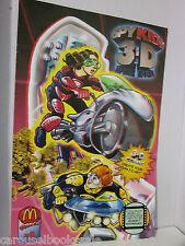 Spy Kids 3-D: Game Over #1 mcdonalds comics scarce ?? H1