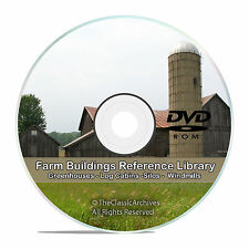 Farm Buildings, Barns, Cottage, Cabin, Poultry, Windmill, Silo, Dairy CD DVD V76
