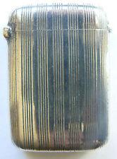 Vintage Austria - Hungarian Silver Matchbox Match Safe Vesta Case begining XXc
