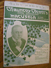 SHEET MUSIC TIS AN IRISH GIRL I LOVE AND SHE'S JUST LIKE YOU FROM MACUSHLA