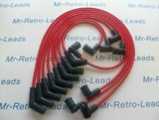 RED 8.5MM PERFORMANCE IGNITION LEADS FOR TVR CHIMAERA V8 GEN 2 COIL PACK HT