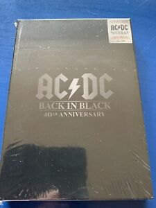 AC/DC - LIMITED EDITION NUMBERED BOX SET 40 ANNIVERSARY 4 CD 2 DVD BLACK IN BLAC