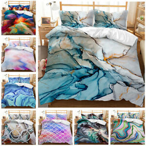 3D Luxury Duvet Covers Bedding Sets Queen King Pillow Case Comforter Set 3Pcs