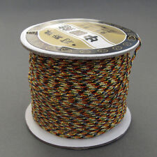 One Multi-Color Silk Cord For Jewelry /Pendant /Bracelet /Hanging--Jewelry Acces