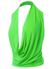 FashionOutfit Women's Sexy Halter Neck Backless Party Cocktail Top