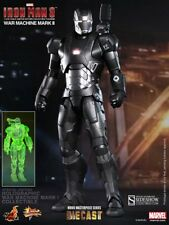 Hot Toys Iron Man 3 War Machine Mark II Diecast Sideshow Holographic Exclusive