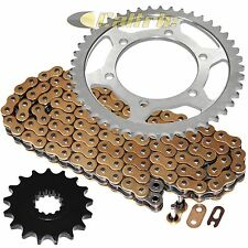 Golden O-Ring Drive Chain & Sprocket Kit Fits YAMAHA R1 YZF-R1 2004-2008