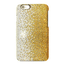 Faded Gold Yellow Made with Swarovski Crystals Bling Case Cover iPhone 7/8 Plus