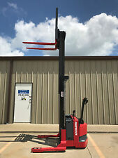 "2004 Raymond RSS40 Walk Behind Forklift Walkie Straddle Stacker - 128"" 3750lb"