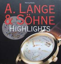 BOEK/PRICE GUIDE : A. LANGE & SÖHNE (uurwerk,montre,watch,guide de prix,argus