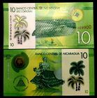 Nicaragua 10 Cordobas Banknote World Paper Money UNC Currency Bill Note