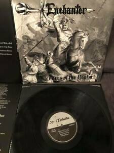 ENCHANTER – Defenders of the Realm (NEW*LIM.350 BLACK V.*US 80's METAL*FATES W.)
