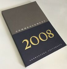 Commencement 2008 Georgetown University Book