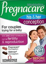 Vitabiotics Pregnacare His and Her Conception Tablet 60 Tablets