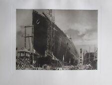 Stapellauf des Columbus am 17. Juni 1922  - Kunstblatt aus 1925