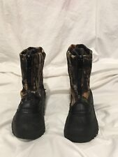 Itasca Hunting and Snow Boots Kids Size 5 Toddler Camouflage Black Outdoor Shoes