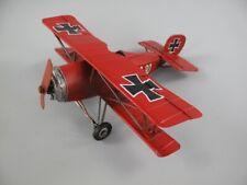 Propeller /& Räder #159521 Blechflugzeug Trippledecker 19x16x7cm bewegl