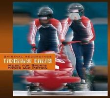 Music For Sports Power And Motion [CD] Tangerine Dream (1406) neuf digipack