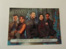 "Rittenhouse ""STARGATE ATLANTIS""  #P1 S1 Promo Trading Card TV Series"