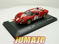 24H18M voiture 1/43 IXO 24 Heures Le Mans : FORD GT40 MKII 1966