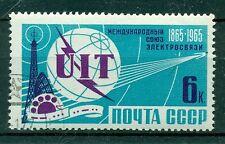 Russie - USSR 1965 - Michel n. 3031 - Union Internationale des Télécommunication