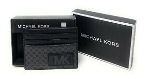 Michael Kors Warren Men's Tall Card Case Wallet Credit Card