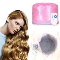 Hair Steamer Cap Beauty Hair Thermal Treatment Nourishing Hair Care SPA Hat E8G5