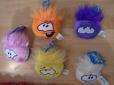 CLUB PENGUIN PUFFLES - SERIES 4 - BRAND NEW WITH TAGS AND COIN CODE