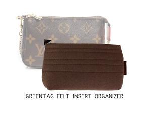 Handmade Felt Insert Organizer for  Mini Pochette Accessoires (LV MINI Pochette)