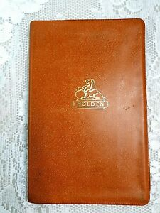 VINTAGE 1960s HOLDEN GMH MONARO,PREMIER,KINGSWOOD CAR OWNERS MANUAL WALLET,POUCH