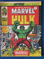 Marvel Comic - The Mighty World of Marvel - Incredible Hulk - Issue 107 - 1974