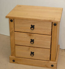 Wooden Vintage/Retro Bedside Tables & Cabinets with Shelves