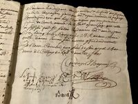 1689 Authentic Handwritten Document 8 PAGES