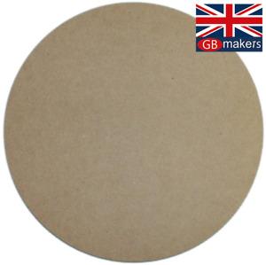 MDF Circle 10cm 20cm 30cm 40cm 50cm 60cm 70cm 75cm 3mm 6mm MDF Circles craft