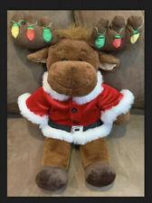 Build A Bear Reindeer Light Up Antlers Blinking 19� Holiday Fun Super Cute!