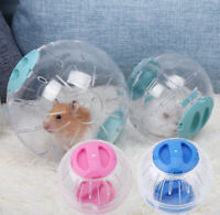 10/12 Hamster Guinea Pig Exercise Running Ball Play Gyro Toy Plastic Pets Sports