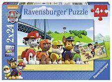 Ravensburger 2 mal 24 Teile Puzzle Héroïque Chiens