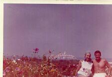 PHoto prise en terrasse du Restaurant Al Houceïma au MAROC en juillet 1964
